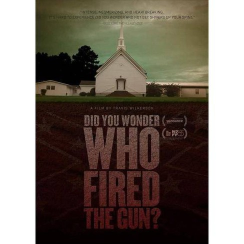 DID YOU WONDER WHO FIRED THE GUN (DVD) - image 1 of 1