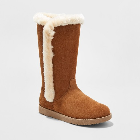 Women's Daniela Tall Suede Winter Boots - Mossimo Supply Co.™ - image 1 of 3