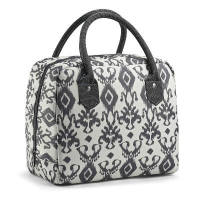 Fit & Fresh Bloomington Lunch Kit - Charcoal Ikat