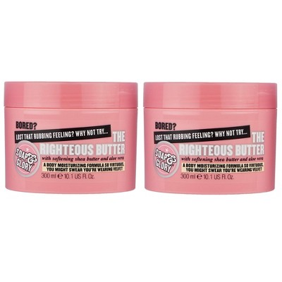 Soap & Glory The Righteous Butter Body Butter - 2ct/10.1 fl oz