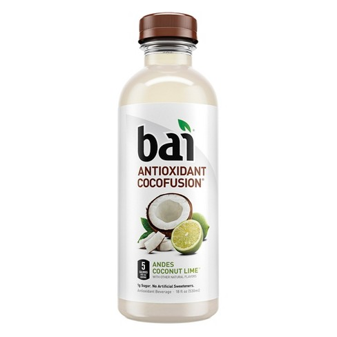 Bai Andes Coconut Lime - 18 fl oz Bottle - image 1 of 3