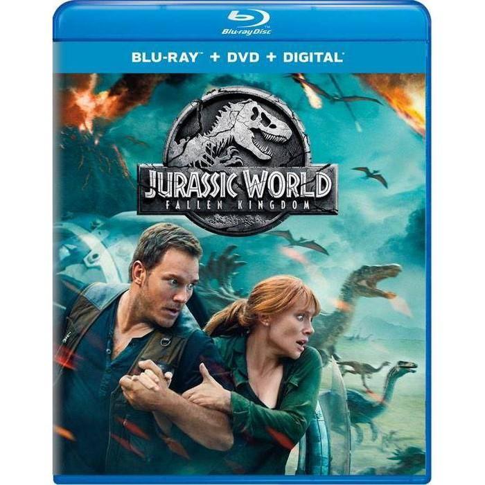 Jurassic World: Fallen Kingdom (Blu-Ray + DVD + Digital) : Target