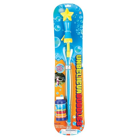 Toysmith Unbelievabubbles Bubble Wand (Colors may vary) - image 1 of 6