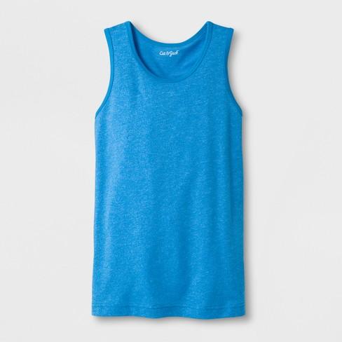Boys' Tank Top - Cat & Jack™ Blue - image 1 of 1