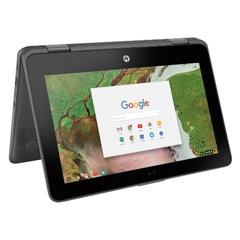 "HP X360 Convertible Touchscreen Chromebook 11-AE027NR 11.6"" Laptop Cloudy Gray"