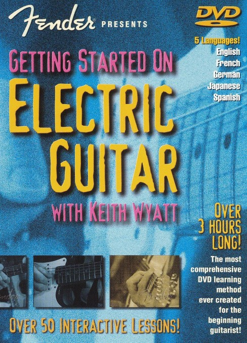 Getting started on electric guitar (DVD) - image 1 of 1