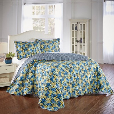 Waverly Shi Shi 3 Piece Bedspread Set - Waverly