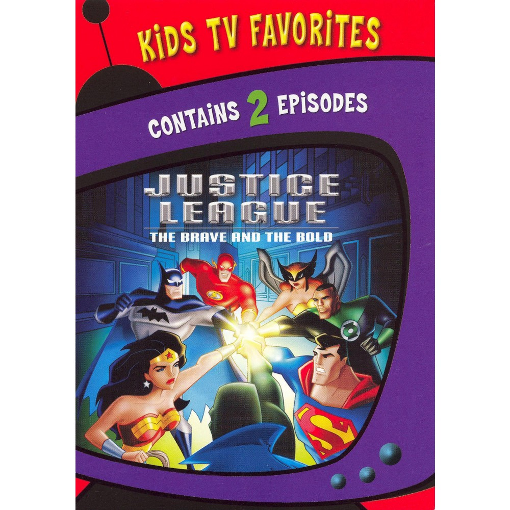 Kids Tv Favorites: Justice League Brave & Bold (Dvd)