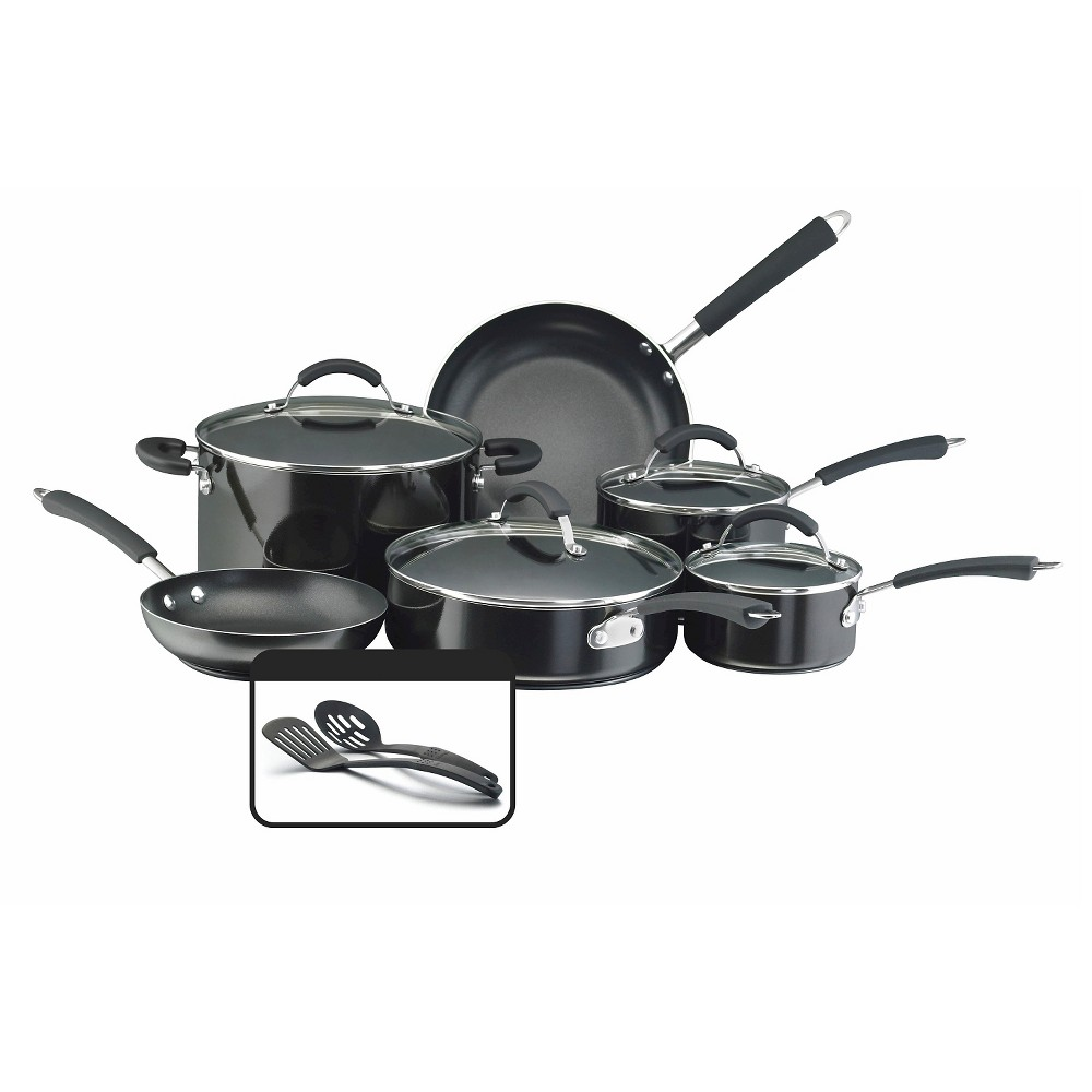 Image of Farberware 12Pc Set - Black