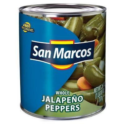 San Marcos Whole Jalapenos - 26oz