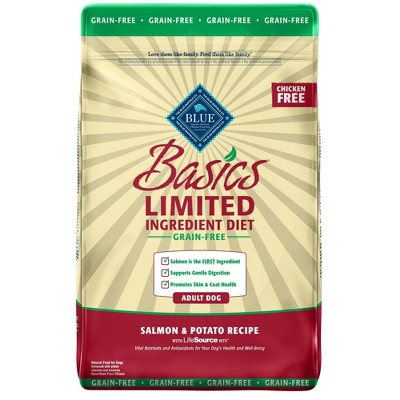Blue Buffalo Basics Limited Ingredient Diet Grain Free Salmon & Potato Recipe Adult Dry Dog Food