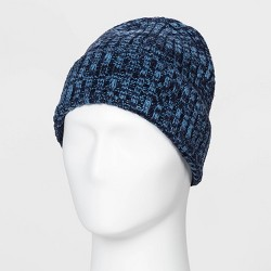 Men's Contrast Marled Cuffed Beanie - Goodfellow & Co™