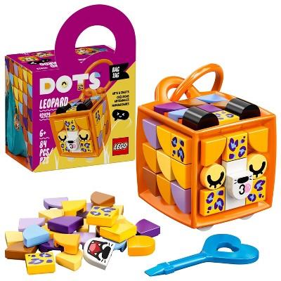 LEGO DOTS Bag Tag Leopard DIY Craft Decorations Kit 41929