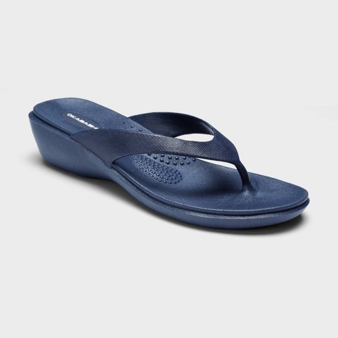 Women's Splash Sustainable Wedge Flip Flop Sandals - Okabashi - image 1 of 3
