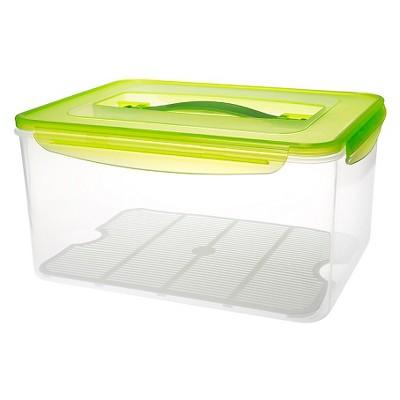 About This Item. Details. Shipping U0026 Returns. Qu0026A. Kinetic GoGreen Fresh  237oz Rectangular Food Storage Container ...