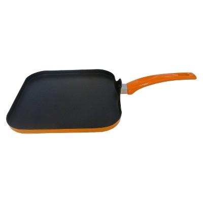 Imusa 10.5  Aluminum Griddle Pan - Orange