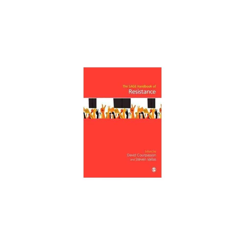 Sage Handbook of Resistance (Hardcover)