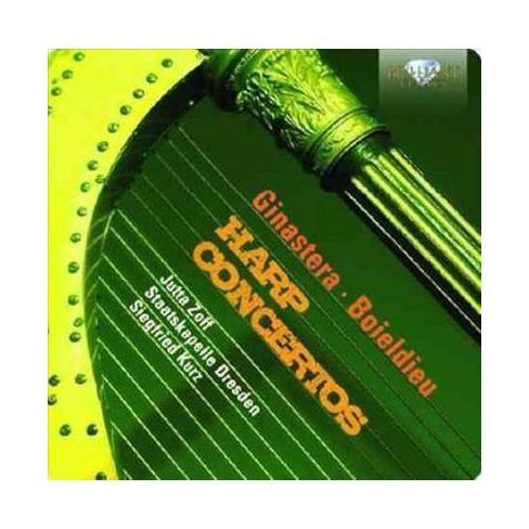 Staatskapelle Dresden - Ginastera/Boieldieu: Harp Concertos (CD) - image 1 of 1