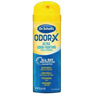 Dr Scholl's Odor-X Odor Fighting Spray Powder - 4.7oz