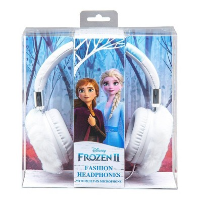 Disney Frozen 2 Furry Fashion Kids Wired Headphones