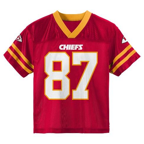 timeless design b3e18 05340 Kansas City Chiefs Toddler Boys' Player Jersey - 18 M