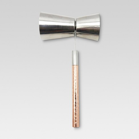 1.5oz Jigger Stainless Steel/Copper - Threshold™ - image 1 of 1
