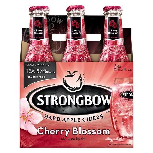 Strongbow Cherry Blossom Hard Cider Pk   Fl Oz Bottles
