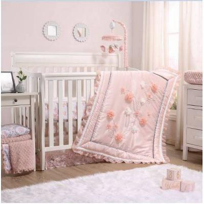 The Peanutshell Brianna Crib Bedding Set - 3pc