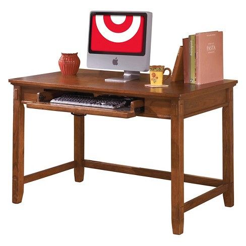 Cross Island Home Office Small Leg Desk Medium Brown - Signature Design by Ashley - image 1 of 2