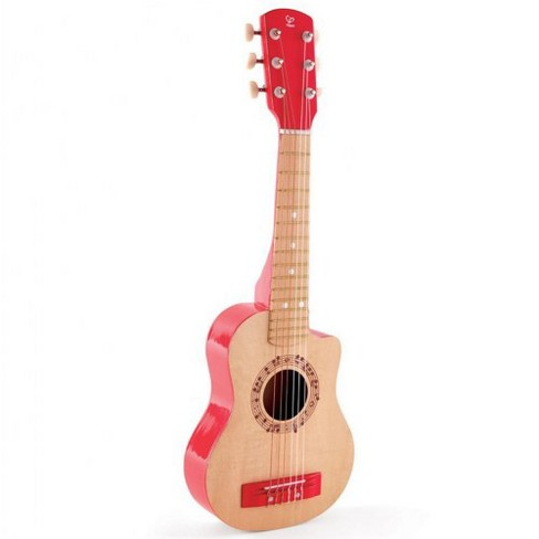 HAPE Red Flame Guitar - image 1 of 4