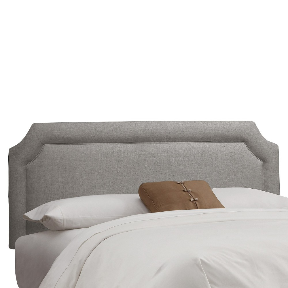 Full Clarendon Notched Headboard Gray - Skyline Furniture