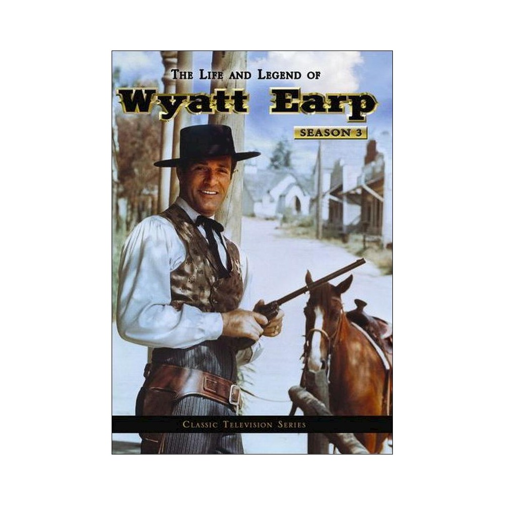 Life and legend of wyatt earp:Ssn 3 (Dvd)