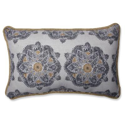 Green Suri Medallion stone Throw Pillow (18.5x11.5 )18.5  x 11.5  - Pillow Perfect®