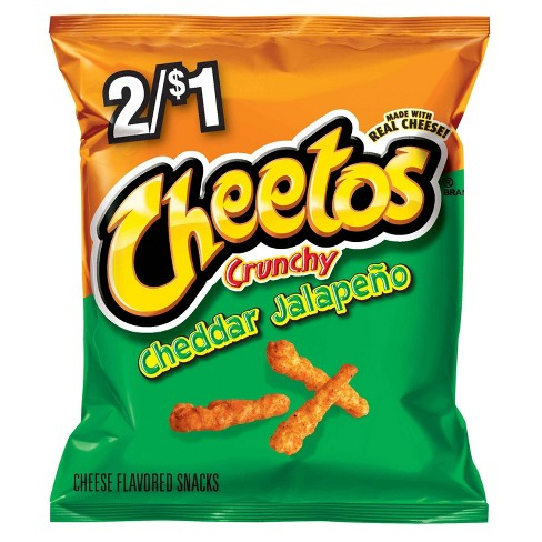Cheetos XXTRA Flamin' Hot Crunchy Cheese Flavored Snacks - 8.5oz - image 1 of 4