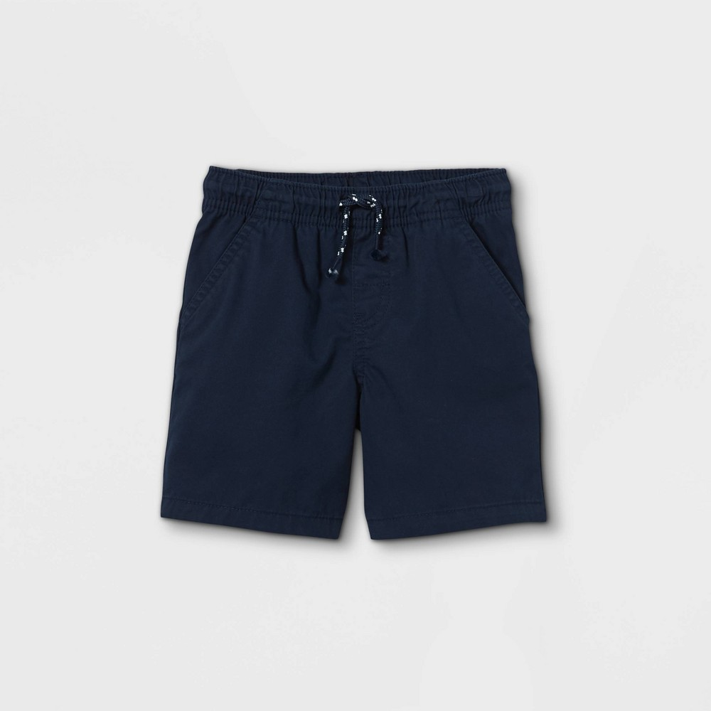 Toddler Boys 39 Woven Pull On Shorts Cat 38 Jack 8482 Dark Blue 12m