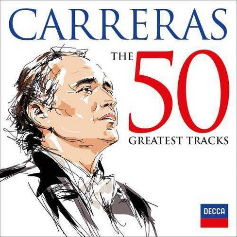 Jose Carreras - Jose Carreras:50 Greatest Tracks (CD) - image 1 of 1