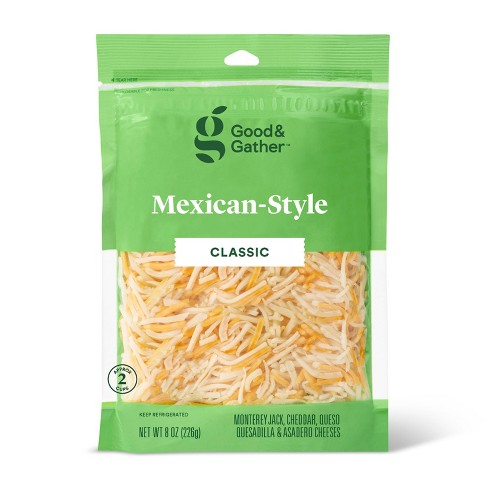 Shredded Mexican-Style Cheese - 8oz - Good & Gather™ - image 1 of 2