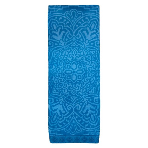 Evergreen Lux Medallion Beach Towel Lux - Turquoise - image 1 of 1