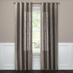 Weave Textured Light Filtering Window Curtain Panels - Threshold™