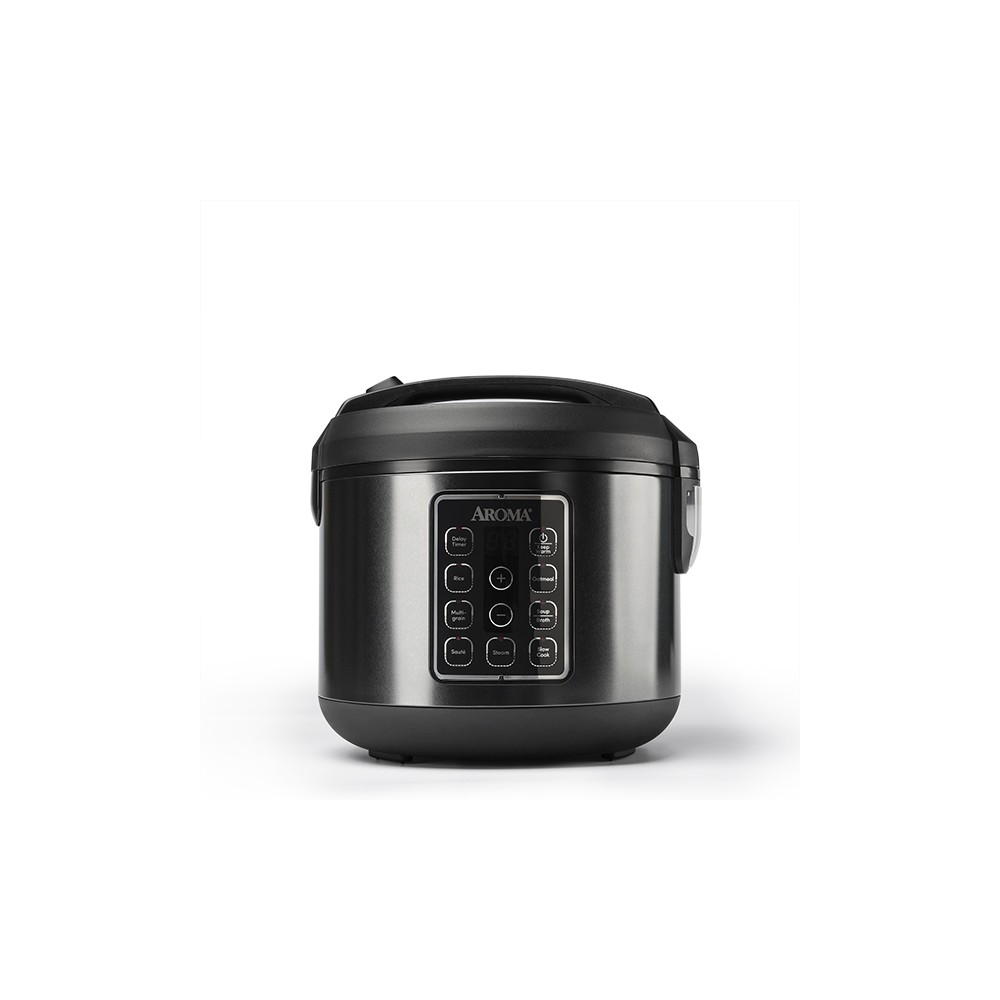 Image of Aroma Electric 12 Cup Rice Cooker - Black