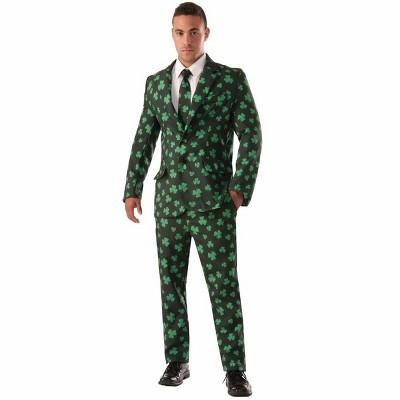 Shamrock Suit & Tie Adult Costume