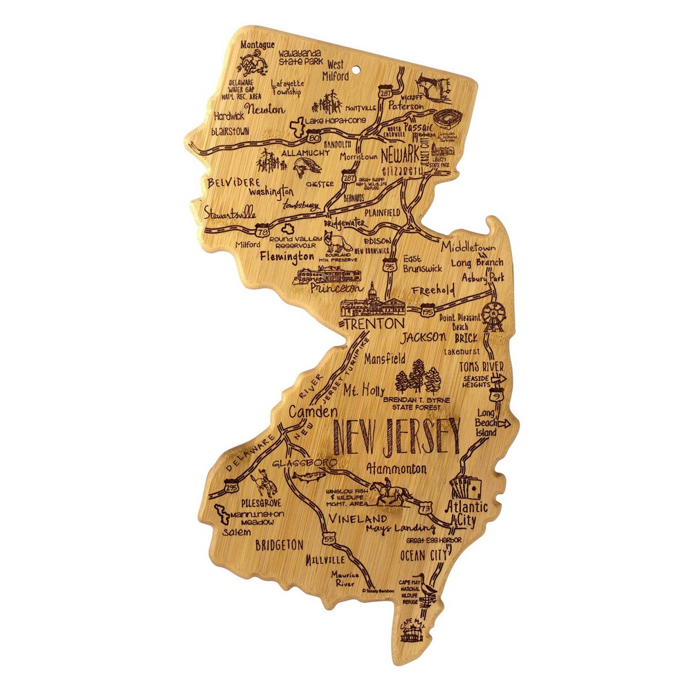 Promos Totally Bamboo Destination New Jersey Serving and Cutting Board