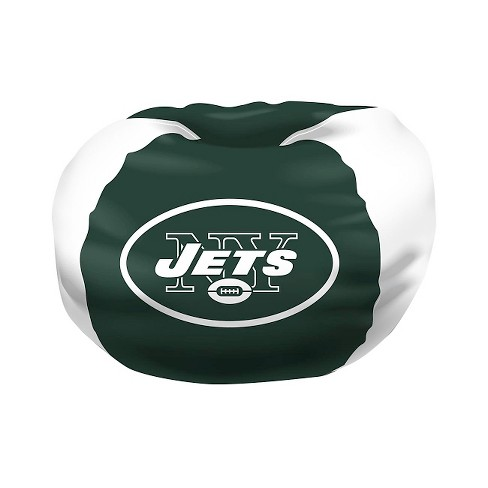 Marvelous Nfl New York Jets Northwest Bean Bag Chair Gmtry Best Dining Table And Chair Ideas Images Gmtryco