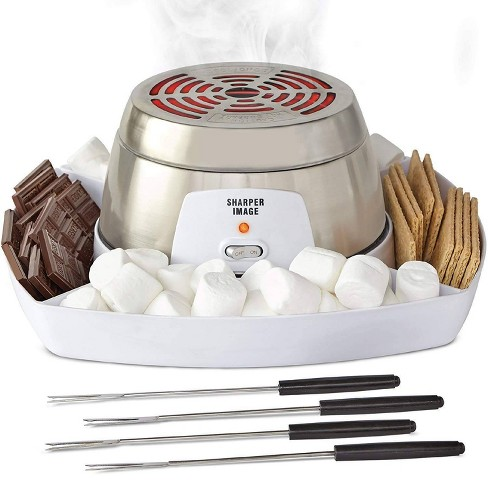 Sharper Image Electric Tabletop S'mores Maker - Gray - image 1 of 4