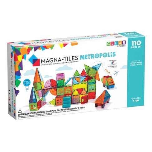 MAGNA-TILES Metropolis 110pc Set - image 1 of 4