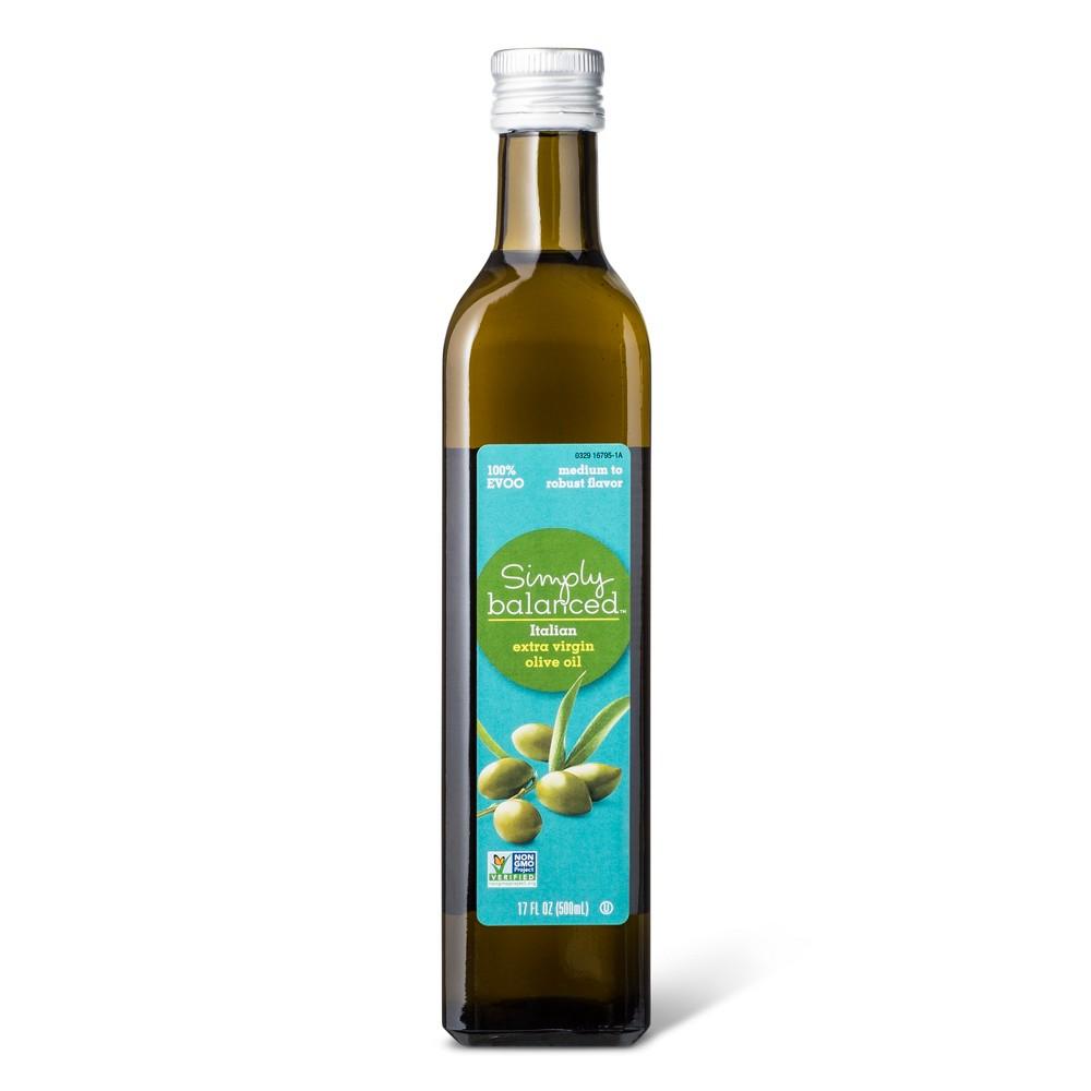 Italian Extra Virgin Olive Oil - 17oz - Simply Balanced