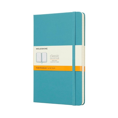 Moleskine Lined Composition Journal with Elastic Closure Blue - image 1 of 4
