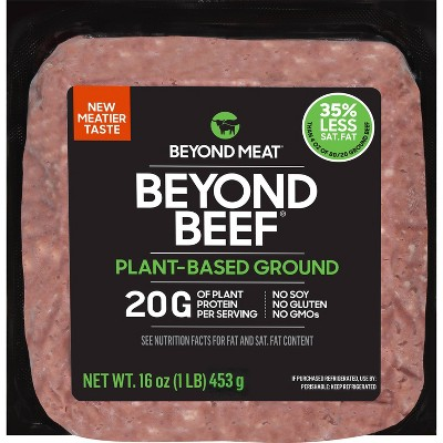 Beyond Meat Beyond Beef Plant-Based Ground - 16oz
