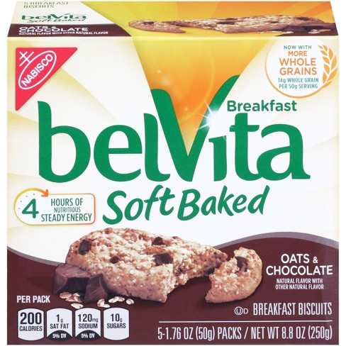 Belvita Soft Baked Oats And Chocolate - 8.8oz - image 1 of 6