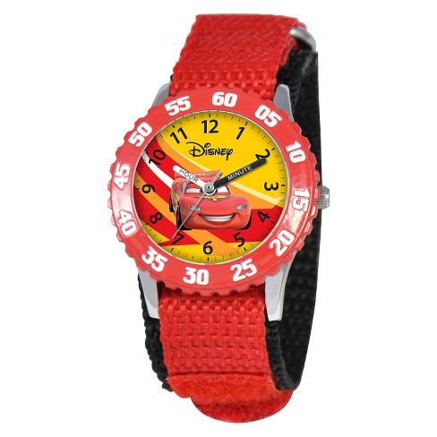 Boys' Disney Cars Watch - Red - image 1 of 6